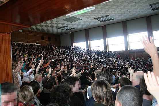 Amphitheatre kastler assemblee generale 15 03 2006