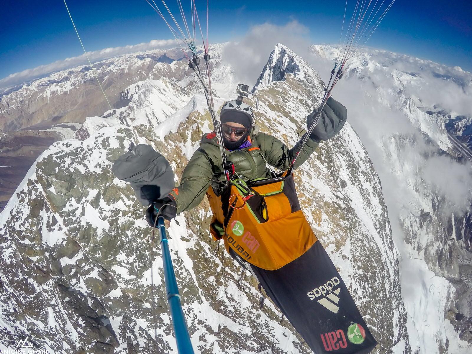 Antoine girard recordman du monde du vol le plus haut en parapente photos archives antoine girard 1626797765